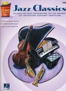 BIG BAND PLAY ALONG VOL 4 JAZZ CLASSICS PIANO
