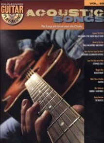ACOUSTIC SONGS GUITAR PLAY ALONG VOL 69