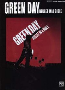 GREEN DAY BULLET IN A BIBLE GUITARE
