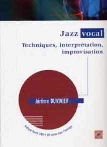 DUVIVIER J. JAZZ VOCAL