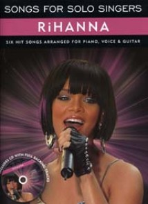 RIHANNA SONGS FOR SOLO SINGERS PVG