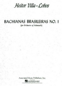 VILLA-LOBOS H. BACHIANAS BRASILIERA N°1 ENSEMBLE VIOLONCELLES