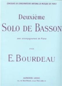 BOURDEAU E. DEUXIEME SOLO DE BASSON
