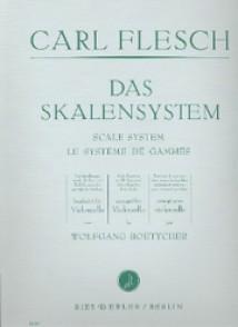 FLESCH CARL SYTEME DE GAMMES VIOLONCELLE
