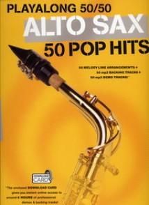 PLAYALONG 50/50 50 POP HITS SAXO EB