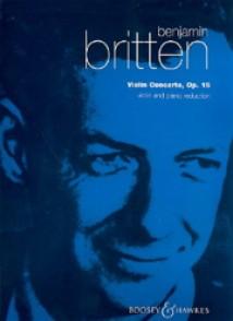BRITTEN B. CONCERTO OP 15 VIOLON