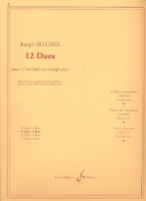 SELLNER J. 12 DUOS VOL 2 HAUTBOIS/SAXO