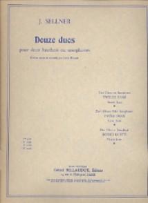 SELLNER J. 12 DUOS VOL 4 HAUTBOIS/SAXO
