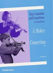 MOKRY J. CONCERTINO SOL MAJEUR VIOLON