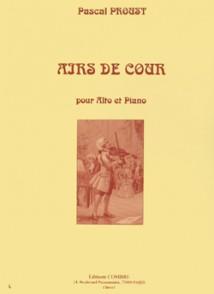 PROUST P. AIRS DE COUR ALTO