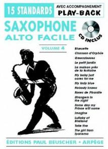 SAXO ALTO FACILE VOL 4