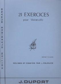 DUPORT J.L. 21 EXERCICES VOL 1 VIOLONCELLE