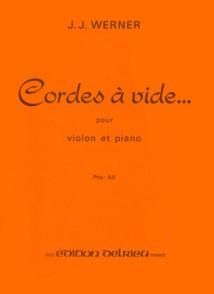 WERNER J.J. CORDES A VIDE VIOLON