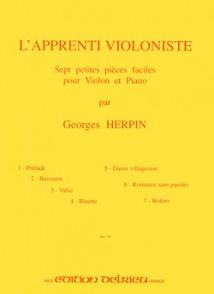 HERPIN G. L'APPRENTI VIOLONISTE VIOLON