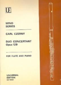 CZERNY C. DUO CONCERTANT OP 129 FLUTE