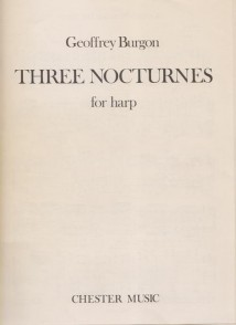 BURGON G. NOCTURNES HARPE