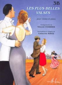 CHARRIER V./RAVEZ C. LES PLUS BELLES VALSES VOL 3A VIOLON