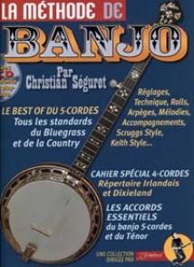 SEGURET C. LA METHODE DE BANJO 5 CORDES
