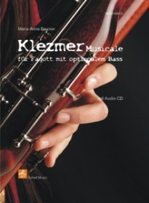 BRUCKER M.A. KLEZMER MUSICALE POUR BASSON