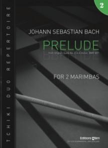 BACH J.S. PRELUDE MARIMBAS