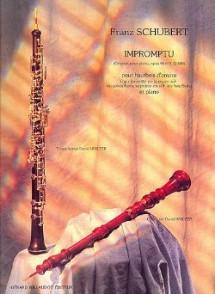 SCHUBERT F. IMPROMPTU OP 90 N°3 HAUTBOIS