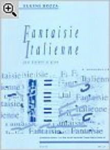 BOZZA E. FANTAISIE ITALIENNE HAUTBOIS