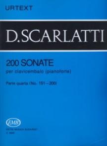 SCARLATTI D. 200 SONATES VOL 4 PIANO
