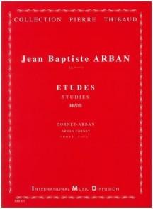 ARBAN 15 ETUDES CARACTERISTIQUES TROMPETTE