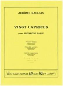 NAULAIS J. CAPRICES TROMBONE BASSE SOLO
