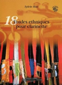 HUE S. ETUDES ETHNIQUES CLARINETTE