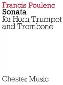 POULENC F. SONATA COR, TROMPETTE, TROMBONE CONDUCTEUR