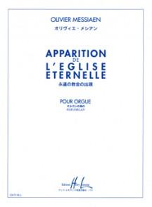 MESSIAEN O. APPARITION DE L'EGLISE ETERNELLE D'ORGUE