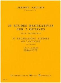 NAULAIS J. ETUDES RECREATIVES TROMPETTE