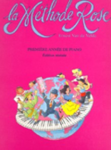 VAN DE VELDE METHODE ROSE REVISEE NOUVELLE EDITION PIANO