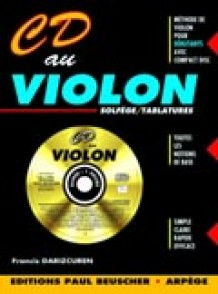 DARIZCUREN F. CD AU VIOLON