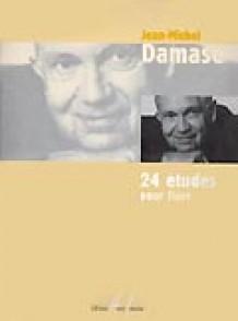 DAMASE J.M. 24 ETUDES FLUTE
