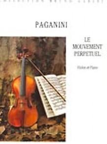 PAGANINI N. LE MOUVEMENT PERPETUEL VIOLON