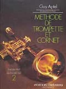 APTEL G. METHODE DE TROMPETTE OU CORNET VOL 2