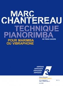 CHANTEREAU M. TECHNIQUE PIANORIMBA VOL 3 MARIMBA