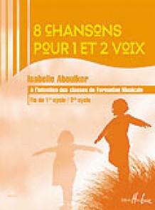 ABOULKER I. CHANSONS POUR 1 ET 2 VOIX