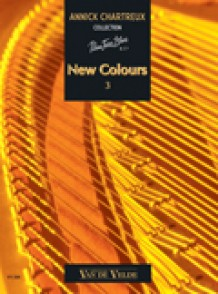 CHARTREUX A. NEW COLOURS 3 PIANO