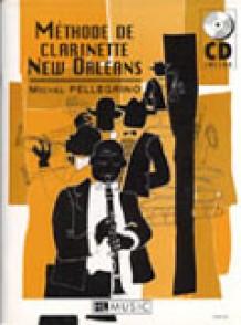 PELLEGRINO M. METHODE DE CLARINETTE NEW ORLEANS