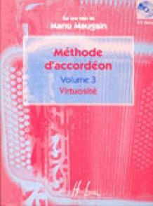 MAUGAIN M. METHODE ACCORDEON VOL 3