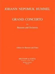 HUMMEL J.N. GRAND CONCERTO BASSON
