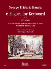 HAENDEL G.F. 6 FUGUES FOR KEYBOARD