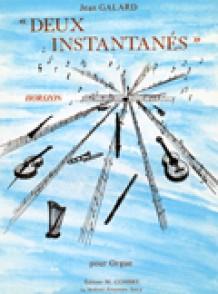 GALARD J. 2 INSTANTANES ORGUE