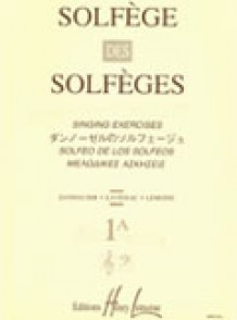 SOLFEGE DES SOLFEGES VOL 1A 2 CLES
