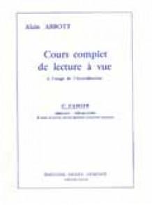 ABBOTT A. LECTURE A VUE VOL 1 ACCORDEON