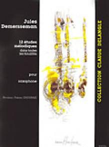 DEMERSSEMAN J. 12 ETUDES MELODIQUES SAXOPHONE