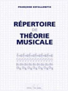 KEFALLONITIS F. REPERTOIRE DE THEORIE MUSICALE